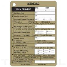 A6 MEDEVAC Slate Card