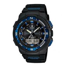 Casio Sports Alarm Chronograph Watch Black/Blue