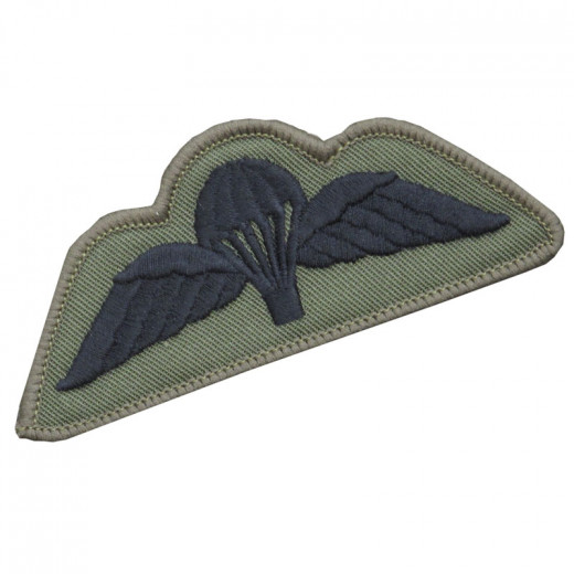 Black on Olive para wings (Velcro)