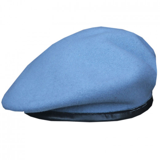 Army Air Corps Blue Officers Small Crown Beret