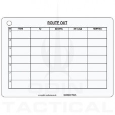 Route Out Slate Card